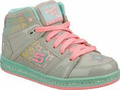 Skechers Infant/Toddler Girls' Twinkle Toes Cherished,Gray/Multi,US 8 M Skechers. $39.95