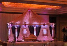 Mandap Detail in Grand Ballroom