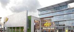 Movie theater Pathe de Kuip at Rotterdam-Zuid.