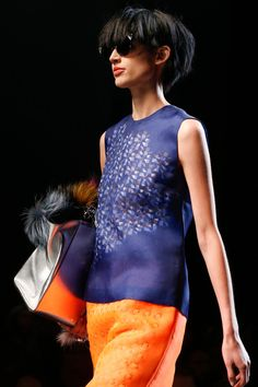 #graphicprint excellence  {Fendi #Spring2014 Ready-to-Wear Collection} #mfw