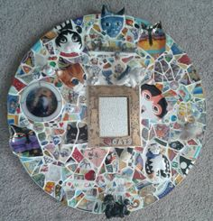 Custom Made for YOU Broken China Mosaic in your Choice by JaQact