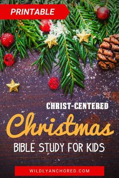 Help your kids unwrap the gift that is Jesus with this Christ-Centered Christmas Bible Study For Kids. Includes activities, discussion questions, music, scripture memory work and more!