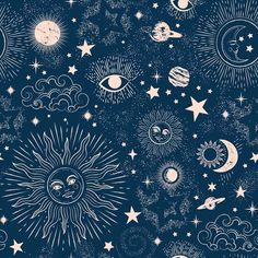 World Menagerie Space Galaxy Constellation 10' L x 24