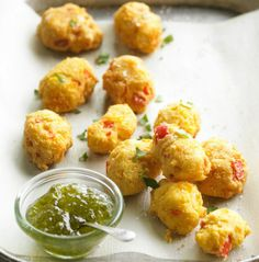 It's the Super Bowl. Beer shouldn't just be in your drinks, it should be in your food. Check out this Beer and Cheese Hush Puppy recipe here: http://www.rewards4mom.com/7-must-make-appetizers-super-bowl-party/
