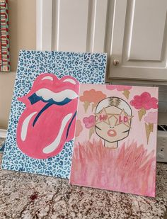 Cute Canvas Paintings, Small Canvas Art, Mini Canvas Art, Painting Collage, Diy Canvas, Diy Painting, Fashion Wall Art, Arte Pop, My New Room