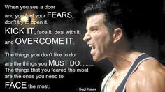 Motivational Quote from Sagi Kalev, the Hammer of Beachbody's Hammer & Chisel.