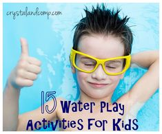 15 water play activities for kids