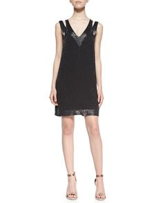Francoise Beaded Double-Strap Dress by Joie at Bergdorf Goodman.