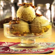 #vegan Pumpkin Pie Ice Cream