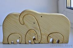 Wooden toys are aesthetic and environmentally friendly