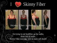 What a transformation Carrie has made since starting Skinny Fiber