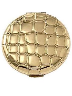 Estee Lauder Slim Alligator Metal Compact