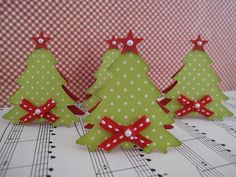 Your place to buy and sell all things handmade Christmas Place Cards, Christmas Fabric, Christmas Gift Tags, Christmas Crafts, Christmas Ornaments, Christmas Tree Table Decorations, Christmas Tree On Table, Shabby Chic Ornaments, Fabric Ornaments