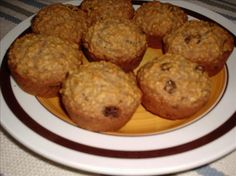 Healthy Oatmeal Raisin Muffins from Food.com:   I found this recipe in an old Pillsbury cookbook.  It is packed with whole grains for a healthy breakfast or anytime snack.
