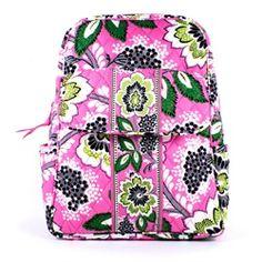 df2c049539 Vera Bradley Priscilla Pink Backpack Handbag Purse - OneLittleBox.com