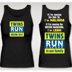 TWINS RUN BOSTON   Alex's Lemonade Stand Foundation for Childhood Cancer