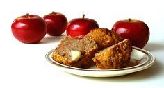 Apple & Flax Seed Muffins Ingredients 1 and ¼ cup milled flax seed 2 teaspoons baking powder 1 Tablespoon cinnamon 1 teaspoon nutmeg ½ teaspoon salt ¾ cup sugar or sweetener 4 … Healthy Baking, Healthy Snacks, Healthy Recipes, Eating Healthy, Banana Whole Wheat Muffins, Flaxseed Muffins, Apple Muffins, Bran Muffins, Applesauce Muffins