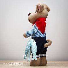 Выкройки мягких игрушек - собака