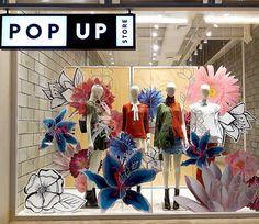 """POP UP STORE, Sao Paulo, Brazil, """"In Bloom"""", photo by Fabiana Justus, pinned by Ton van der Veer"""
