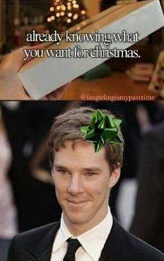Happy Christmas! -SH.>> he loos like freddie highmoore....