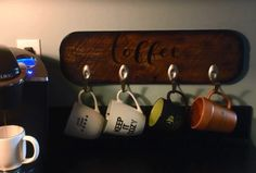 Diy Video Tutorial: Upcycled Spoon Cup Hooks Home & décor Recycling Metal Wood & Organic
