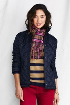 Women's Quilted Insulator Jacket from Lands' End  landsend.com