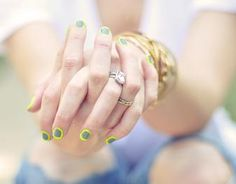...love Maegan: Neon & Gray Nails ~ Outlined Manicure | A Lifestyle Blog + Fashion + Beauty + DIY