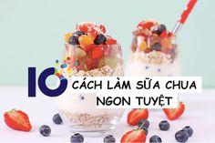 """10 Cách làm sữa chua ngon """"tuyệt cú mèo"""" bạn không thể bỏ qua - http://congthucmonngon.com/210211/10-cach-lam-sua-chua-ngon-tuyet-cu-meo-ban-khong-bo-qua.html"""