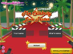 The Celebrity Love Tester