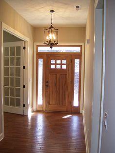 front door - office/ den off to right