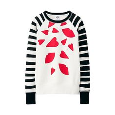 WOMEN Lulu Guinness Long Sleeve Sweat Pullover