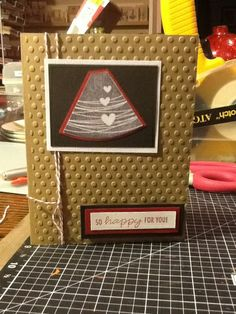 Ginger's Vintage Room: unity stamp, pregnancy card, congrats
