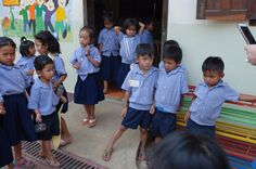 """""""Outside the classroom"""" by TravelPod blogger mrsdee from the entry """"Battambang to Svay Sisiphon"""" on Tuesday, February  2, 2016 in Svay Sisiphon, Cambodia"""