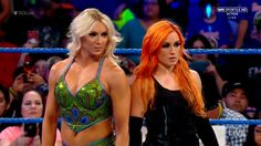 Charlotte and Becky