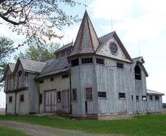 Unusual Barn Allen Co- OH