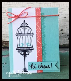 Pink Buckaroo Designs: Builder Birdcage- Sneak Peek