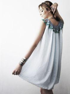 gauzy summer dress