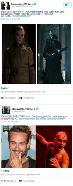 Twitter War: Sleepy Hollow v. Elementary