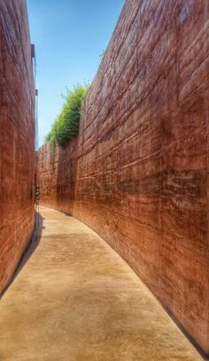 Rammed earth Design by spacetime,th #architect#architecture#design#clay