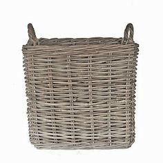 Square Rattan Basket Assorted Sizes - storage