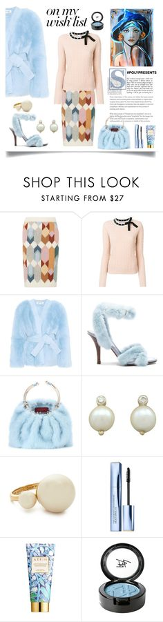 """""""#PolyPresents: Wish List"""" by faten-m-h ❤ liked on Polyvore featuring Prada, RED Valentino, Diane Von Furstenberg, Valentino, Kate Spade, Estée Lauder, AERIN, Beauty Is Life, contestentry and polyPresents"""