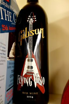 Flying Vino #Gibsonguitars #CustomShop #Nashville #FlyingVino