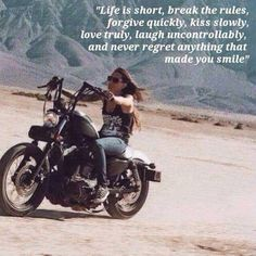 Best motorcycle quotes sayings harley davidson 19 Ideas – Motorcycles Ideas Harley Davidson Images, Harley Davidson Quotes, Harley Davidson Motorcycles, Triumph Motorcycles, Custom Motorcycles, Touring Motorcycles, New Harley Davidson, Custom Bikes, Lady Biker