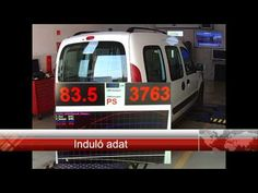 Renault Kangoo 1.9DCI 80LE Chiptuning Teljesítménymérés - YouTube