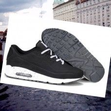 low priced 740a6 2345c WTVD438 Herre Nike Air Max 90 running Sko Sort Sharpei  eYB59