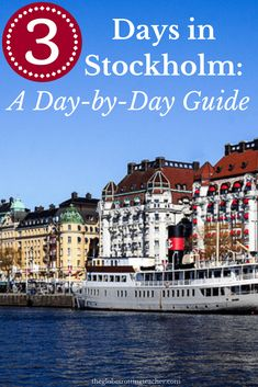Planning a trip to Scandinavia's capital, Stockholm? Use this in-depth guide to plan your 3 days in Stockholm itinerary with the best things to see and do! Backpacking Europe, Europe Travel Tips, European Travel, Travel Guides, Travel Destinations, Travelling Europe, Travel Jobs, Travel Info, Travel List