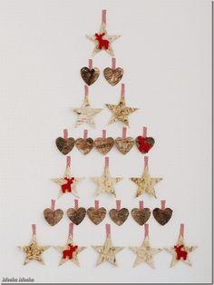 decorazioni natalizie fai da te - diy - albero alternativo