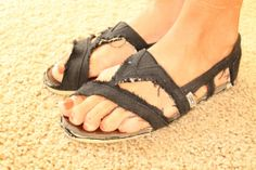 14 Best diy sandals images | Sandals, Me too shoes, Diy
