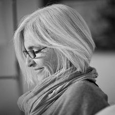 Eileen Fisher. Beautiful photo of her.