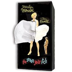 Amazon.com: The Seven Year Itch Facial Tissue Dispenser: Marilyn Monroe Decoration: Home & Kitchen